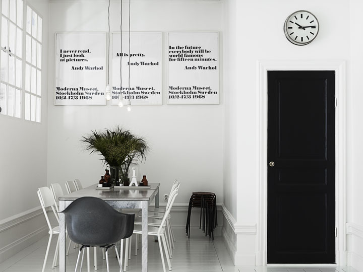 Scandinavian style – white and black | Nordic Bliss