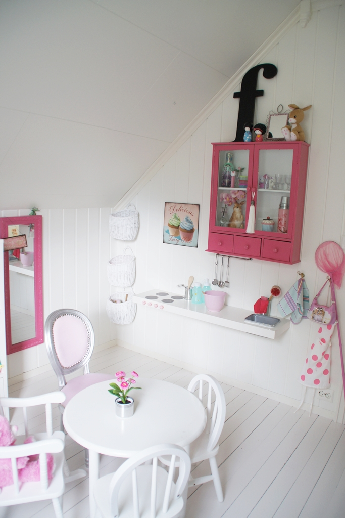 White And Pink Kids Room Nordic Bliss