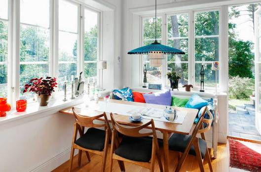 Scandinavian style is a mixture of the the right amount of light and color.  It is the convergence of functionality and shape. It often intermixes old  and ...