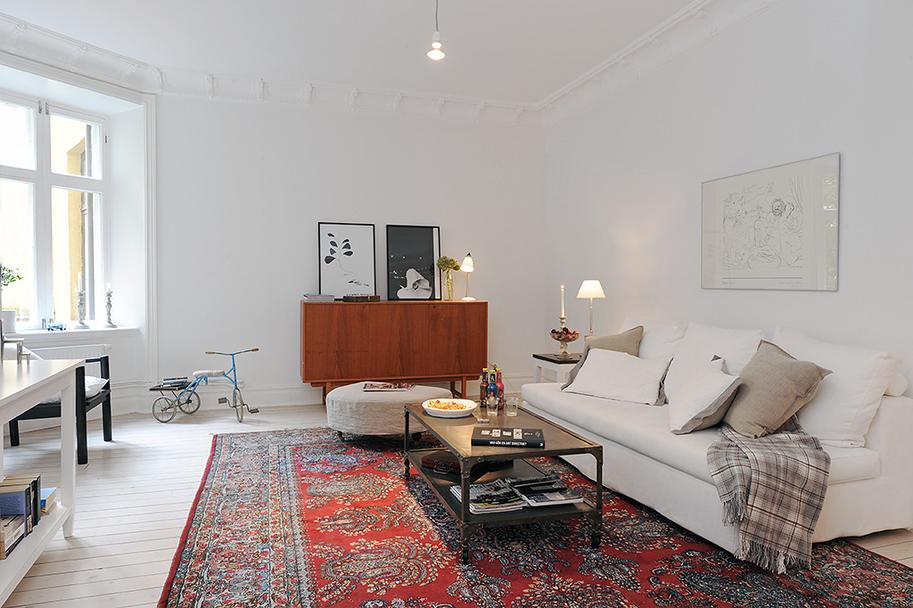 Swedish Apartment Nordic Bliss