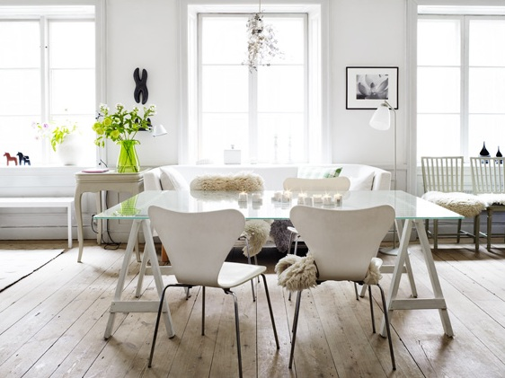 Photographer anna kern nordic bliss Scandinavian style dining room