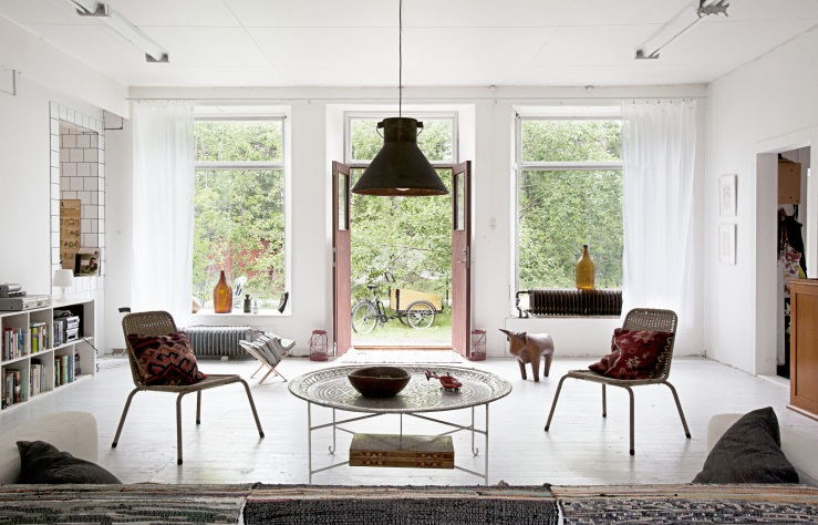 A Beautiful Living Nordic Bliss
