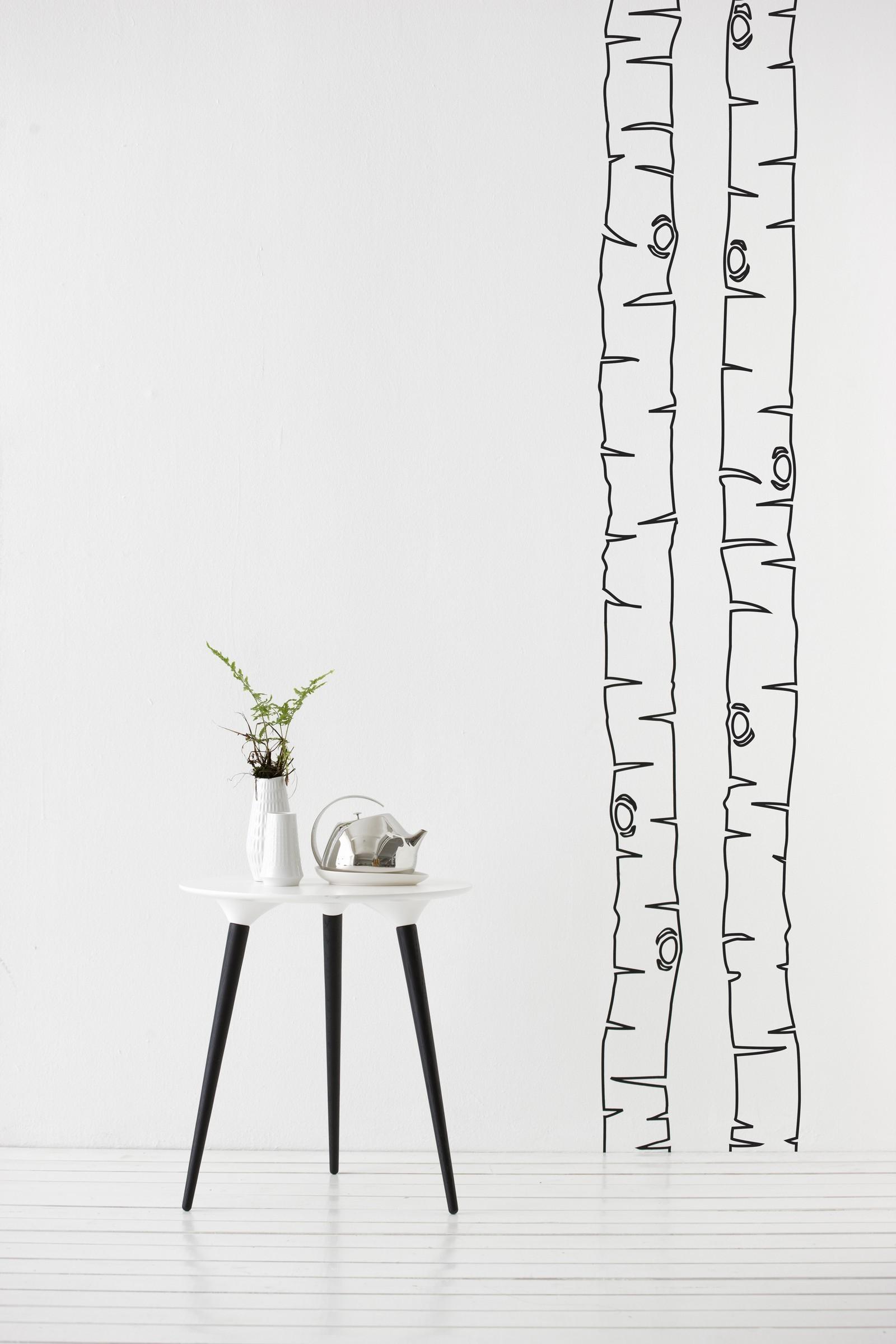monochrome nordic bliss. Black Bedroom Furniture Sets. Home Design Ideas