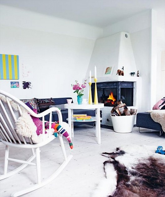 White Yet Colourful Nordic Bliss