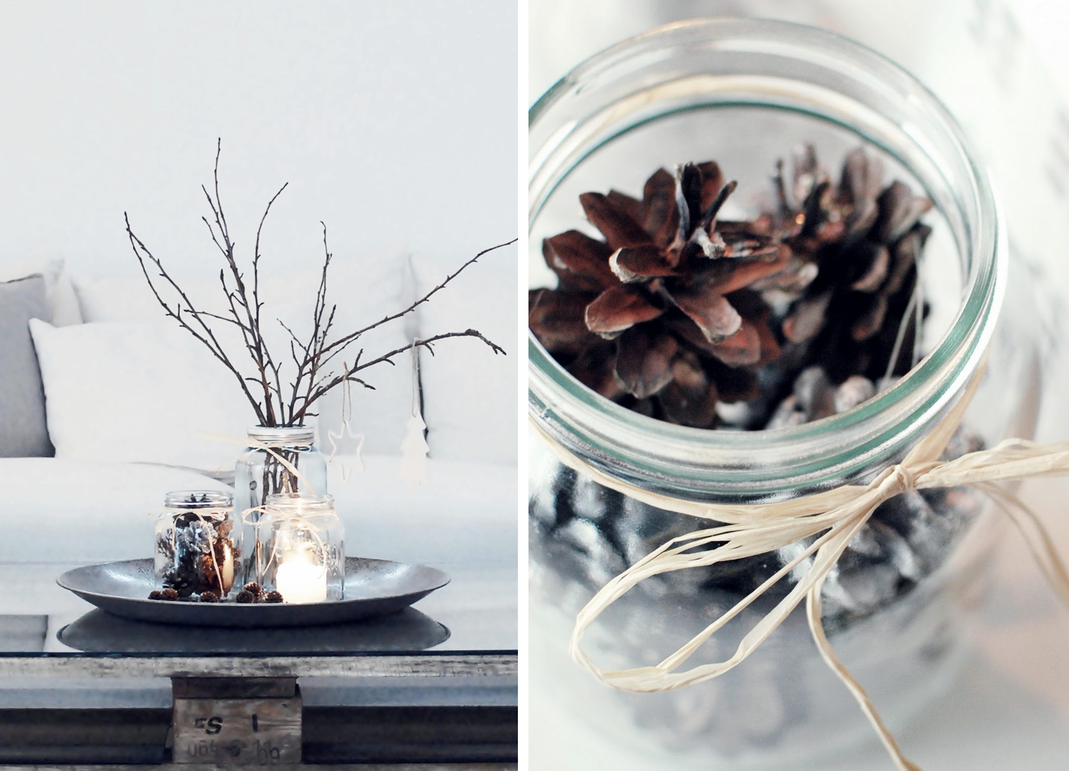 Blog love cathrines hjerterom nordic bliss Idee deco table noel