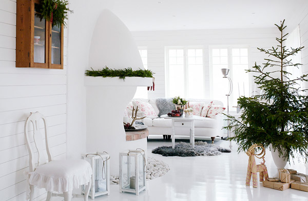 Christmas by eva lindh nordic bliss Christmas decorations interior design