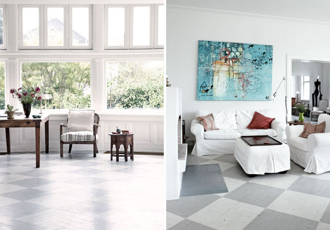 Paint Your Floor Nordic Bliss