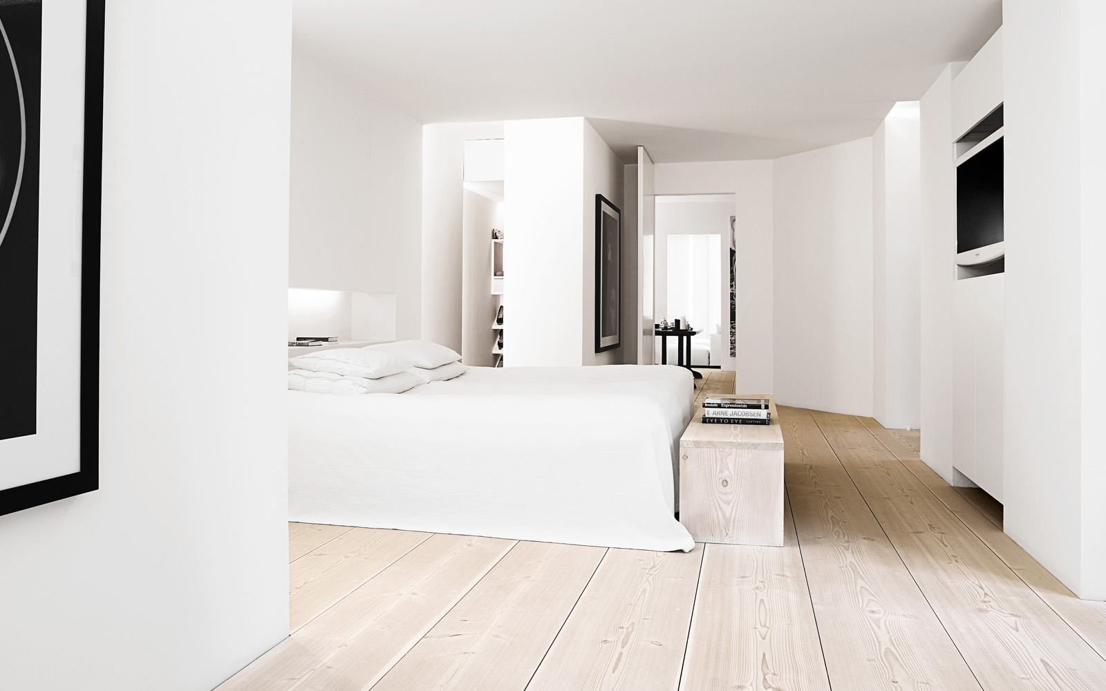 Wooden floor nordic bliss for Bedroom flooring